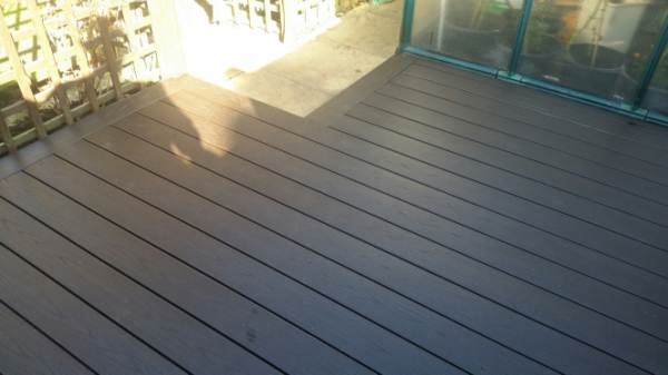 PVC DARKWOOD DECKING